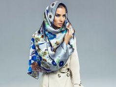 Silk Head Scarves