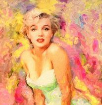 Marilyn Monroe color