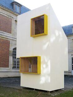 Un grupo de 20 estudiantes delÉcole nationale supérieure d'architecture de Versailles (ENSA -V), junto al profesor de proyectos,Frank Rambert, han... http://www.plataformaarquitectura.cl/cl/788891/national-school-of-architecture-of-versailles-students-create-minimal-housing-structure?utm_medium=email&utm_source=Plataforma+Arquitectura