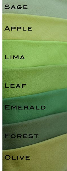 Green Fleece Color Chart | Please remember that all screens … | Flickr