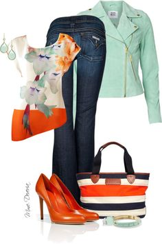 Stitch fix stylist: I love this! The color combo isn't something you see everyday.