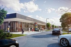 Retail centers on Behance