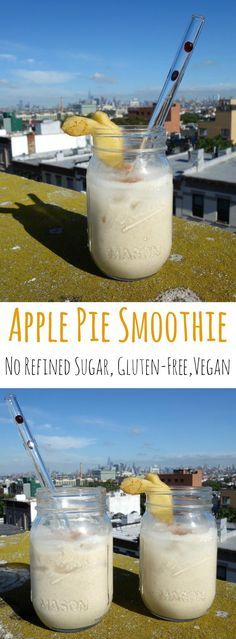 Apple Pie Smoothie -     Apple Pie Smoothie - no refined sugar, gluten-free, vegan |  curlsnchard.com   https://www.pinterest.com/pin/17310779795547984/   Also check out: http://kombuchaguru.com