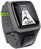 TomTom GPS Sportuhr MultisportHRM, Dark Grey, One size, 1RS0.001.01