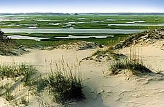 Hammocks Beach State Park, NC - still want to camp between the dunes!