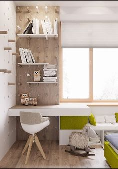 50 Cool Kids Study Space Design Ideas That You Need To Copy - As your child grows, their education becomes a more and more integral component of their daily lives. But far too many kids rooms are not conducive to. Kids Study Spaces, Rooms To Go Kids, Kid Spaces, Bedroom Desk, Kids Bedroom, Lego Bedroom, Master Bedroom, Study Room Design, House Ideas