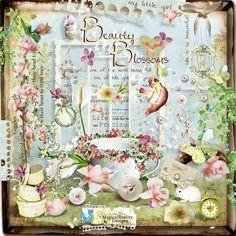 Скрап-набор Beauty blossom