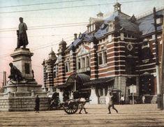 旧万世橋駅と廣瀬中佐像