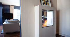 EcoSmart Fire Installation: W Residence , USA