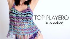 TOP PLAYERO A CROCHET | tutorial paso a paso (ENGLISH SUB!) PARTE 1/2