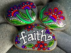Hey, I found this really awesome Etsy listing at http://www.etsy.com/listing/122503742/faith-in-the-garden-3-painted-sea-stones