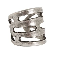 avant garde paris polo ring in silver