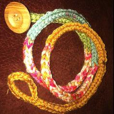 Knit bracelet