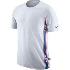 Nike Men's Philadelphia 76ers Dri-FIT White DNA T-Shirt, Size: Medium