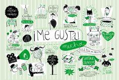 What do you like to do? Illustration via Amaia Arrazola