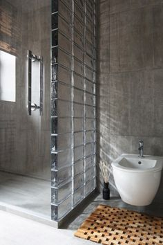 Modern bathroom. Check the site HOUZZ.com. Absolutely great site for in and outside the house.