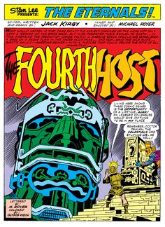 Eternals vol.1 #8 (1977) - The Fourth Host