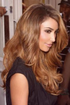 chestnut brown hair with caramel highlights - Google Search