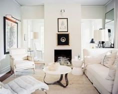 decorating a white neutral living room
