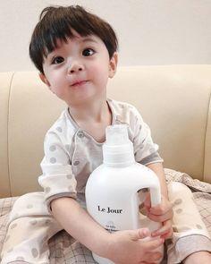Cute Baby Boy, Cute Little Baby, New Baby Boys, Little Babies, Cute Kids, Baby Kids, Cute Asian Babies, Korean Babies, Asian Kids