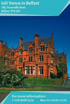 Our main #premises in #Belfast, and the location of the #IoD office, is Riddel Hall at #Stranmillis. Our hosts, the Queen's University Executive Education Centre, have provided modern #meeting and #working facilities in this completely refurbished building. Find out more: http://www.iod.com/your-venues-and-benefits/iod-venues/belfast