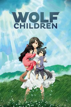 Les Enfants loups, Ame et Yuki, おおかみこどもの雨と雪 - Film de Mamoru Hosoda (ma note : ★ Beau Film, Movies To Watch, Good Movies, Movies Free, Wolf Children Ame, Mamoru Hosoda, Film Anime, Film Manga, Manga Anime