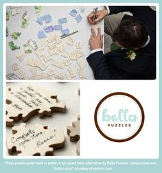 It's a #guestbook you'll play with! Lots of fun for #weddings.