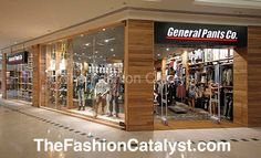 General Pants Co. opens at Karrinyup Shopping Centre. http://thefashioncatalyst.com/site/2013/02/general-pants-co-opens-at-karrinyup-shopping-centre/