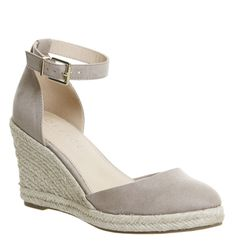 9885f4797e0f Office Marsha Closed Toe Espadrille Wedges Taupe - Mid Heels