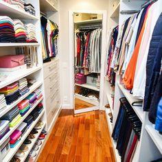 Closet finalizado!❤Na organização é importante pensar em cada espaço para que…