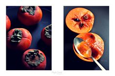 Caqui or Persimmons fruits | Food by Maggie & Marcos www.foodmym.blog.com