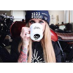 Cafe Racer Pasión — Cafe Racer girl - Danielle Vichinsky |...