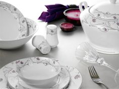 YASEMİN  Yasemin - 85 Parça Yemek Takımları #porselen #yemektakimi