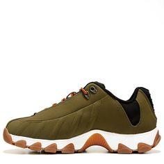K-Swiss Men's ST329 Cmf Memory Foam Training Shoes (Dark Olive/Black)