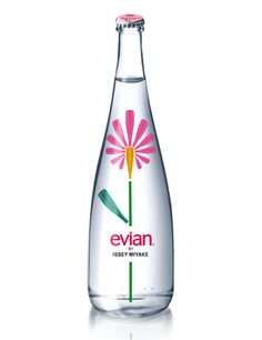 Evian by Issey Miyake #water #packaging