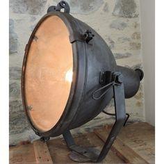 Projecteur de cin ma bardwell mcalister spotlight for Lampes industrielles d occasion