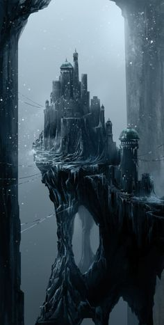 Ice Castle by Asim Steckel