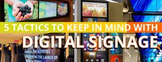 5 Tactics To Keep In Mind With Digital Signage  The phrase the customer is king has evolved into a more holistic phrase the customer experience is everything. Companies are focusing on delivering cross-channel experiences that truly draw in distracted customers. However in order to improve customer experience a tool needs to first grab a customers attention. Is digital signage the right tool for the job or is it just more clutter?  Short attention span  A report by Microsoft reveals the…