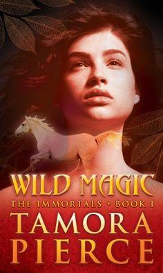 Wild Magic (The Immortals, Book 1) by Tamora Pierce,http://www.amazon.com/dp/1416903437/ref=cm_sw_r_pi_dp_1y85sb0WSWEKY20P
