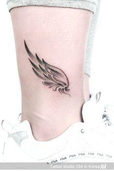 35 Awesome Wing Tattoo Ideas That Will Be Helpful For You! I… – Tattoo Designs Tattoos Verse, Tattoo Femeninos, Tattoo Hals, Make Tattoo, Tattoo Angel Wings, Chest Tattoo, Mini Tattoos, Leg Tattoos, Body Art Tattoos