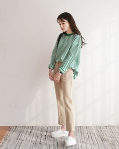 asiatische Mode, kfashion und kstyle Bild - ˗ˏˋ k-fashion ˊˎ˗ - Trends 2020 Korean Outfit Street Styles, Korean Street Fashion, Korea Fashion, Korean Outfits, Asian Fashion, Trendy Outfits, Fashion Outfits, Image Fashion, Look Fashion