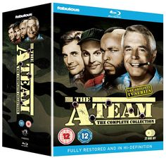 The A-Team (American TV Show Starring George Peppard, Dirk Benedict, Dwight Schultz & Mr T George Peppard, Classic Series, Classic Tv, The Ateam, Dwight Schultz, Mr T, Drama, Star Wars, Best Tv Shows
