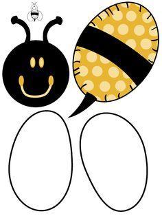 Bee template @Anna Fambrough