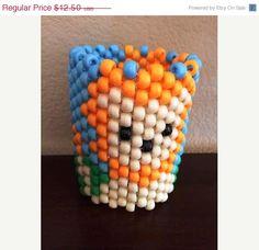 ON SALE Lion Lovers Kandi Cuff by KandilandUSA on Etsy, $10.63