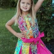 Happy Days Dress PDF sewing pattern  - via @Craftsy