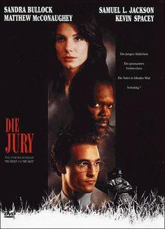 Die Jury 1996 USA Jetzt bei Amazon Kaufen Jetzt als Blu-ray oder DVD bei Amazon.de bestellen IMDB Rating 7,2 (58.352) Darsteller: Matthew McConaughey, Sandra Bullock, Samuel L. Jackson, Kevin Spacey, Oliver Platt, Genre: Crime, Drama, Thriller, FSK: 12