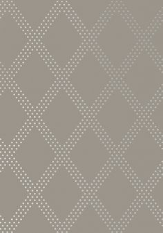 POWDER ROOM // BRAD, Silver on Charcoal, T11039, Collection Geometric Resource 2 from Thibaut