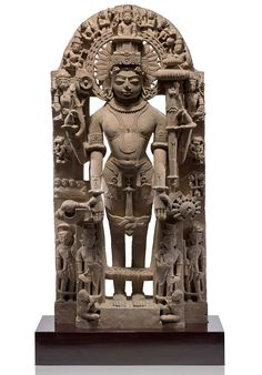Lot 50, Vishnu and His Avatars, achieved the second highest price at Rs. 1.02 crores (US $ 154,545). It also set a record price for any Indian stone sculpture to be sold at auction in India. Two Basohli Ragamalas Collectibles Antiques (India) Private Limited held a highly successful white glove sale with Classical Indian Art, a live auction of miniature paintings and sculptures, powered by Saffronart