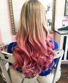 awesome Модные розовые волосы (50 фото) — Все оттенки зефирного цвета