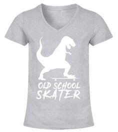 Skateboarding Funny Dinosaur T-Rex T-Shirt